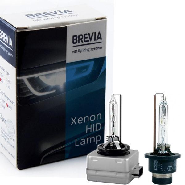 Ксеноновые Лампы Brevia Цоколь D (комплект 2 шт)